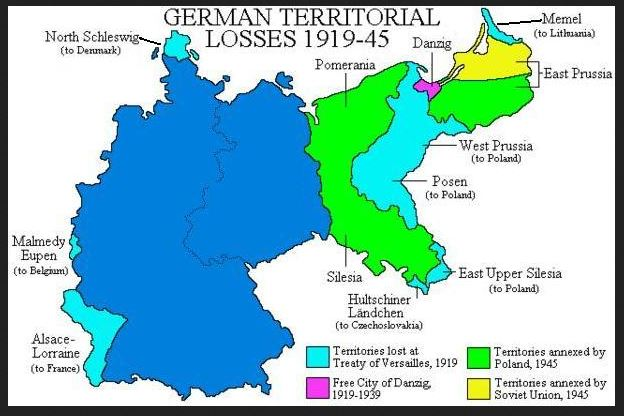 GermanTerritorialLosses